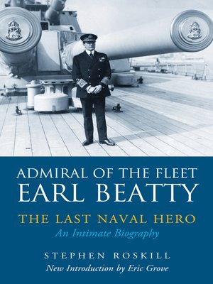 cover image of Admiral of the Fleet Earl Beatty